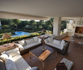 Spacious apartment for sale in gated development