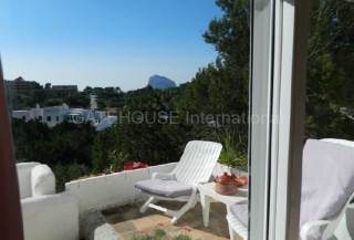 Apartment with views towards Es Vedra