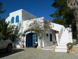 Detached sea view villa for sale in Can Germa