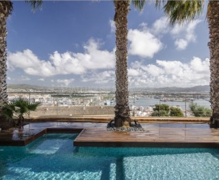Luxury Maisonette with sea views in Dalt Vila, Ibiza Town