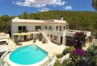 Large Villa with Mountain and Sea views in Santa Eularia