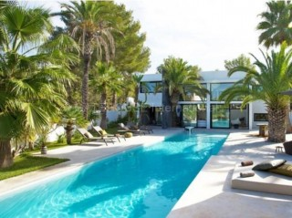 Ibiza Luxury contemporary villa for sale in San Agustin