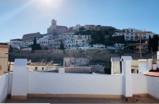 Traditional Penthouse apartment for sale in Ibiza Old Town