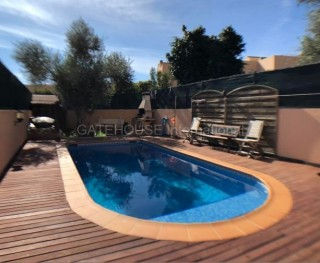Townhouse with private pool in San Jordi