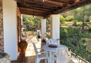 Mountain  and sea view home for sale in Cala Moli
