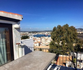 Triplex Penthouse apartment for sale in Ibiza Town