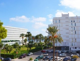 Two bedroom apartment for sale in Playa den Bossa with partial sea views