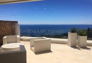 Sea view apartment for sale in Roca Llisa, Ibiza