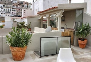 Penthouse apartment for sale in Ibiza Old Town