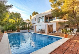 Modern detached villa in Cala Salada