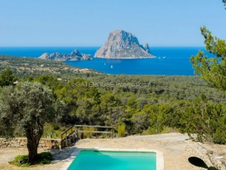 Luxury Finca estate with breathtaking views over Es Vedra