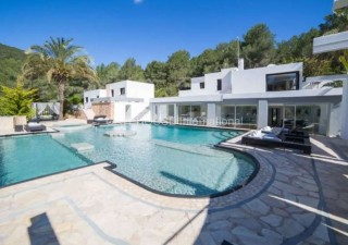 Large luxury villa in Jesus with views over Ibiza Town and Dalt Vila