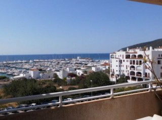 Penthouse apartment with sea views in Santa Eulalia