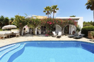 Finca home with a private pool and beautiful gardens within walking distance of Cala Nova beach