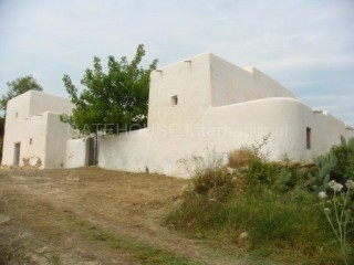 Old Ibicenco finca for sale with land in North Ibiza
