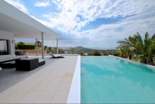 Luxury modern sea view Vista Alegre Es Cubells house for sale