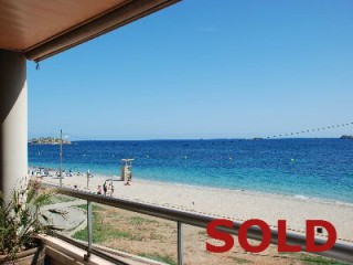 Playa den Bossa Ibiza luxury apartment for sale frontline to beach