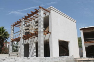 Home under construction for sale Santa Eularia with partial sea views