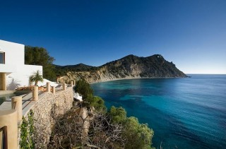 Beautiful front line villa between Roca Llisa & Ibiza Town with direct sea access