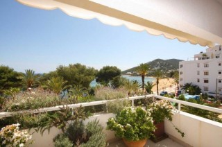 Modern apartment in Santa Eularia Ibiza right on the beach