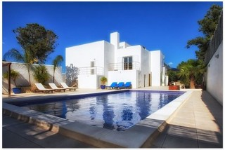 San Jose Ibiza Modern villa with guest apartment