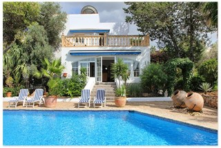 San Antonio Ibiza 5 bedroom house for sale with large mature garden