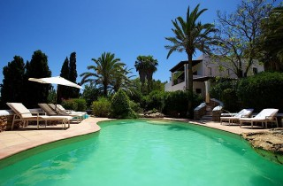 Finca available for rent in the hills of Santa Eularia,  Ibiza