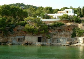 Luxury frontline home for sale in Cala Gracio, Ibiza
