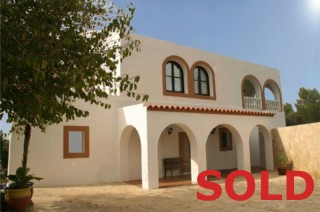 Large 5 bedroom villa for sale with sea views Santa Eulalia Ibiza