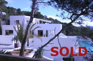 Luxury recently renovated home on the hillside of Es Cubells, Ibiza