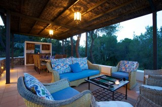 Luxury Ibiza holiday villa for rent - sleeps 8 comfortably