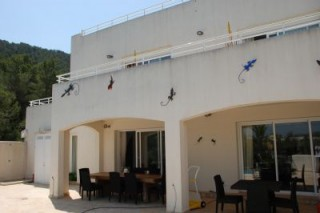 Lovely family villa to rent with views over Santa Eularia, Ibiza