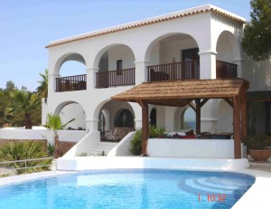 beachfront villa for sale in Ibiza
