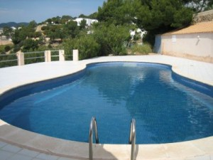 villa for sale Ibiza pool