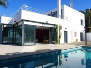 Ibiza €1,500,000Roca LLisaContemporary style new build home for sale with distant seaviews..…