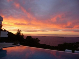 Ibiza €1,975,000Cala CarboLuxury sea view villa on South West coast with beautiful sunsets…