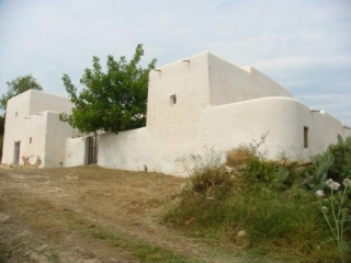 €2,100,000San Joan de LabritjaOld Ibicenco finca for sale with land and sea and valley views